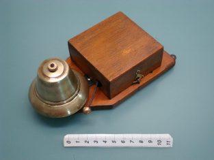 Campanello ottone 20x10x7 3 - 6 v.