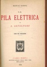 La pila elettrica 1912