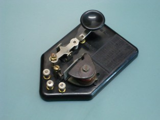 Tasto telegrafico con ronzatore 11x7x3