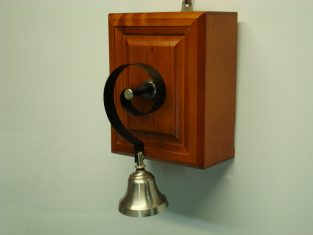 campanello 25x15x15 a scuotimento 9v.