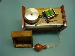 campanello portatile apila 3v. 22x13x15