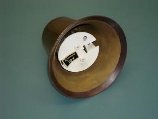 Campana elettrica Ø 11ottone 220v .