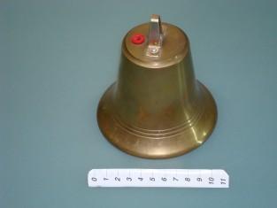 Campana elettrica Ø 11ottone 220v.
