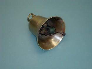 Campana elettrica Ø 9 bronzo bobine in seta 8v.