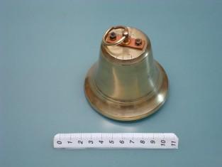 Campana elettrica Ø 9 in ottone 8v.