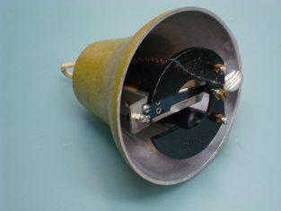 Campanella-badenia-elettrica-alluminio verniciato Ø 12 -12-v