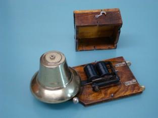 Campanello 1920~ ottone 22x11x10a1