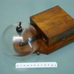 Campanello elettrico 1920~ vetro grande 26x14x13d