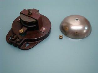 Campanello 1940~ 110 v. bachilite campana in bronzo