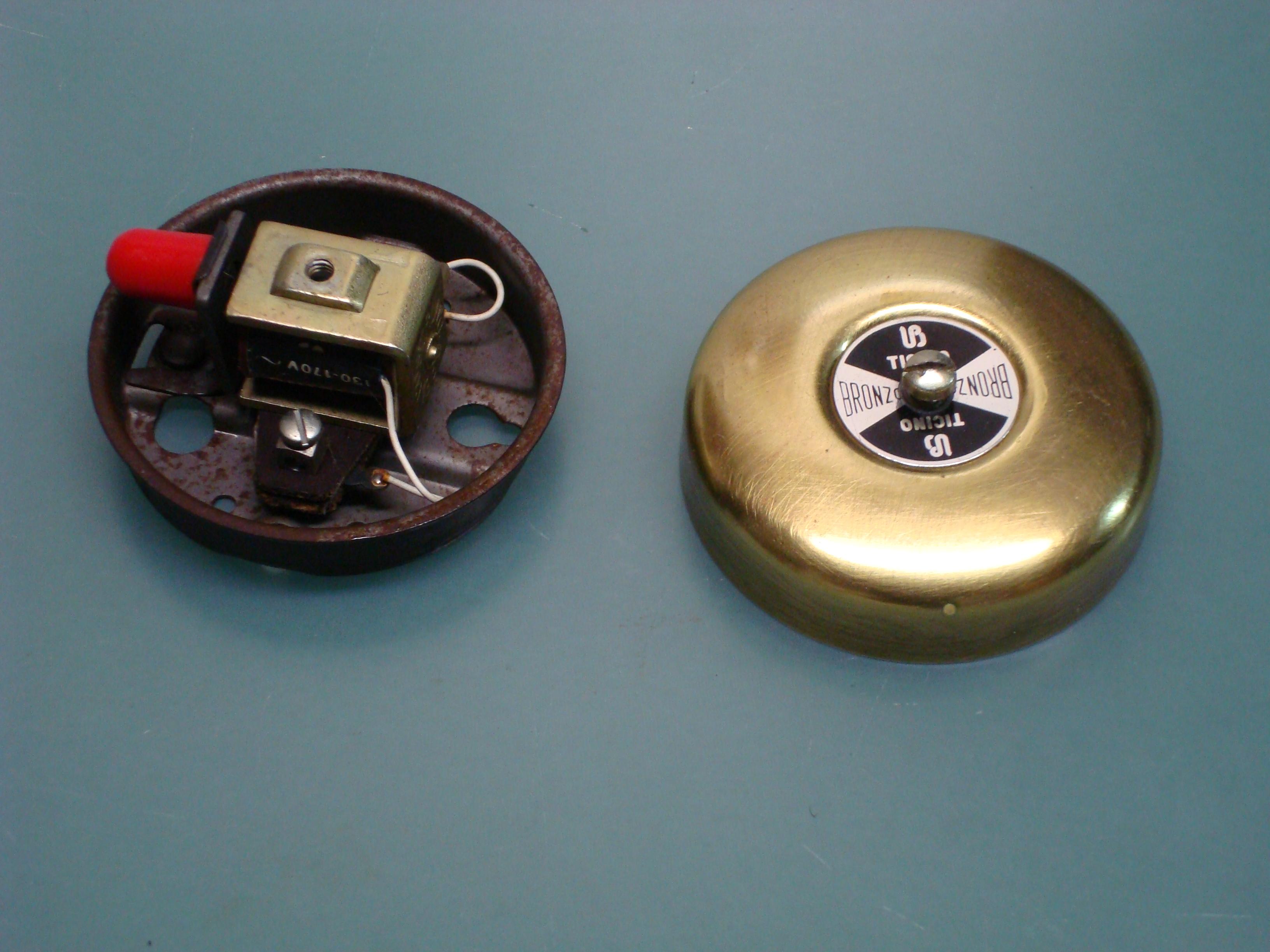 Campanello 1968 compana ottone campanelli elettrici - Suoneria campanello casa ...