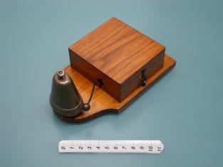 Campanello 19x10xh8 campana in bronzo 1930~
