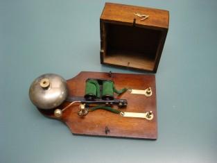 Campanello bronzo 17x9xh5 1900~ 4v.