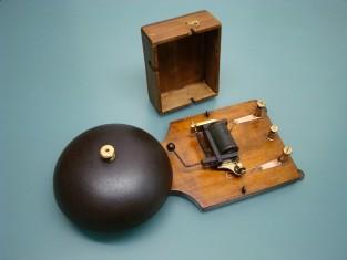 Campanello campana ferro 32x14x9 4-8v. 1910~