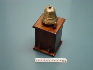 Campanello da tavolo1910 campanain bronzo 9x20x9 v. 4-6
