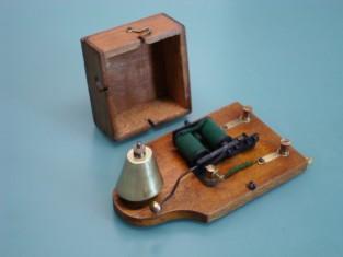 Campanello elettrico 1920~ 19x10x7 4-8v.