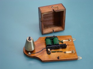 Campanello elettrico 1930~ 19x10x7 4-8v.
