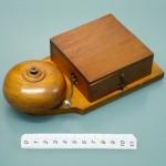 Campanello elettrico 1920~ legno 19x10x4