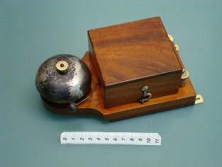 Campanello elettrico cam. ferro 1900~