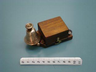campanello elettrico bronzo molto piccolo 1920 11x35x6 4-8v