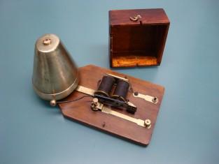 Campanello ottone 21x12xh13 1930~ 4.5v