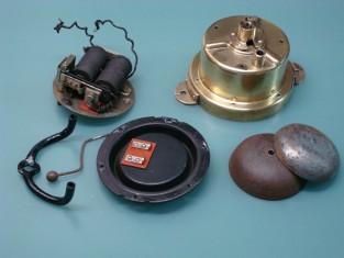 Campanello ottone campane ferro 16x12x14 1920~