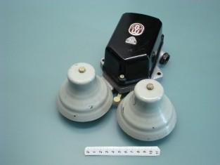 Campanello tel. 1960~ campane ferro 24x21x9
