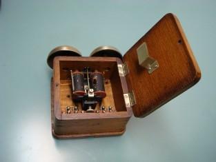Campanello telefono 1930~ C.ia G.le Elettricità Milano 12x16x8