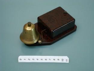 Campanello elettrico bachilite bronzo 16x8x7