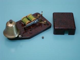 Campanello elettrico bachilite bronzo 16x8x7 a