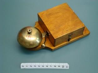 Campanello elettrico 20x10x6 ottone 1910~