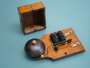 Campanello elettrico camp. ferro 1910~