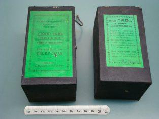 2 pile del 1935 per telefono v.1,5 tipo galvanophor