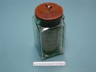 Pila Leclanché a sacchetto 1920 / Battery jar cell - Leclanchè a sac