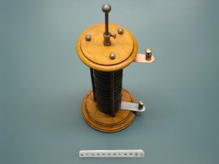 Pila di Volta 1799 / antica pila elettrica - battery cell Volta