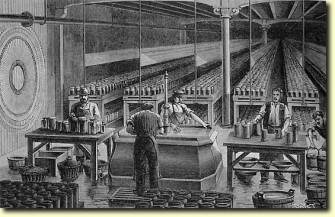 Sala pile posta di Parigi 1894